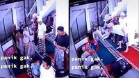 Tikus bikin rusuh saat orang shalat berjemaah (Sumber: TikTok/stickman1993)