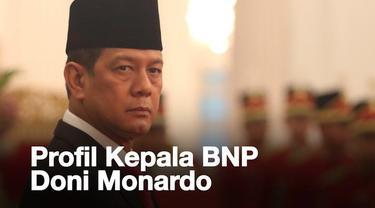 Letjen TNI Doni Monardo dilantik Presiden Jokowi menjadi kepala BNPB yang baru. Siapa sebenarnya Doni Monardo?