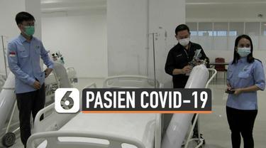 Tower 9 Wisma Atlet di Pademangan dibuka untuk perawatan pasien Covid-19. Tower ini khusus menampung pasien-pasien OTG atau bergejala ringan.