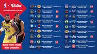 Live streaming pertandingan NBA 2020/2021 pekan keempat dapat disaksikan melalui platform Vidio. (Sumber: Dok. Vidio)