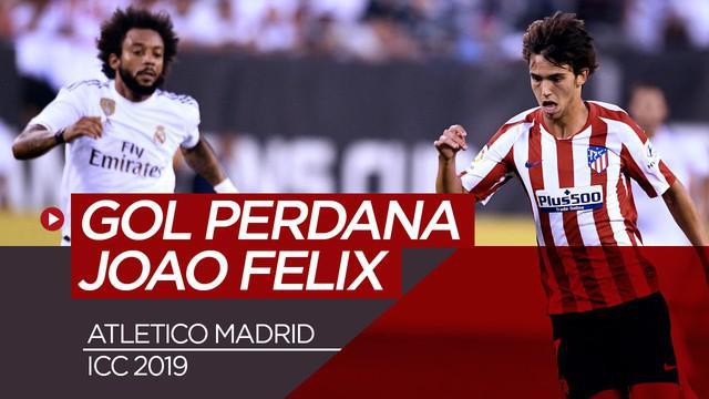 Berita Video Wonderkid Joao Felix Cetak Gol Perdana saat Melawan Real Madrid