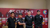 Konferensi Pers PSM Vs Kaya-Iloilo pada Grup H Piala AFC 2019. (Bola.com/Muhammad Adiyaksa).