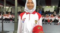 Calon Paskibraka Nasional 2019 dari Aceh, Indrian Puspita Ramadhani. (Foto: Liputan6.com/Ratu Annisaa Suryasumirat).