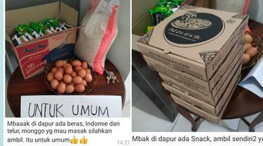 6 Potret Chat Ibu Kos Bagi-bagi Makanan Gratis, Idaman Banget