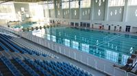 Arena Aquatic Papua untuk persiapan Pekan Olahraga Nasional (PON) 2021 yang digarap PT Waskita Karya (Persero) Tbk