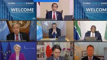 Hadiri Global COVID-19 Summit, Jokowi Sarankan Ada Standar Protokol Kesehatan Global