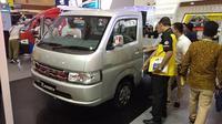 Suzuki Carry Luxury diluncurkan di Giicomvec 2020. (Septian / Liputan6.com)