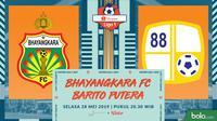 Shopee Liga 1 - Bhayangkara FC Vs PS Barito Putera (Bola.com/Adreanus Titus)