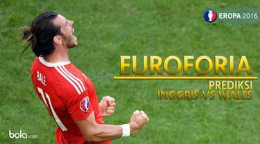 Inggris akan berjumpa Wales pada pertandingan kedua babak penyisihan grup B Piala Eropa 2016, seperti apa prediksinya?