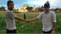 Dua pria Sidrap taruhan pilpres (Facebook/Istimewa)