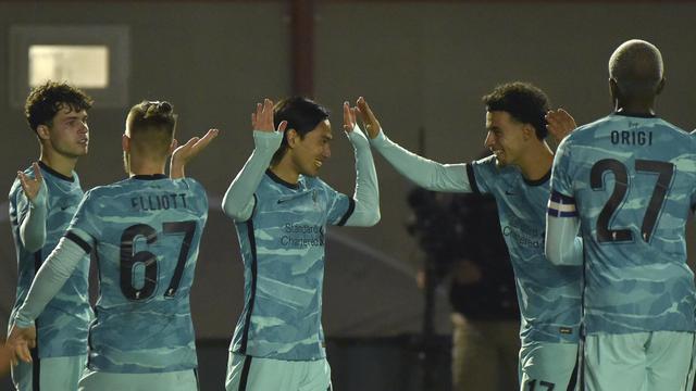 Liverpool Lumat Lincoln City 7-2
