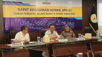 enasihat Khusus Apkasi, Ryaas Rasyid memberikan sambutan di rakor Korwil Se-Indonesia di Jakarta, Kamis 20 Februari 2020.(Istimewa)