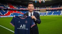 Lionel Messi resmi milik PSG. (PSG)