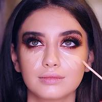 Berikut kesalahan yang masih dilakukan ketika mengaplikasikan concealer (Foto: Instagram.com/makeuphouse_mua)
