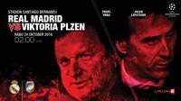 Real Madrid vs Viktoria Plzen (Liputan6.com/Abdillah)