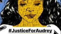 Animasi Justice For Audrey, media seni untuk menuntut keadilan bagi korban bully di Pontianak, Kalimantan Barat. (dok. Instagram @fadelfdil/https://www.instagram.com/p/BwCsFWpAZIM/Dinny Mutiah)