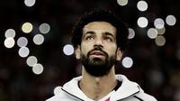 Bintang Mesir, Mohamed Salah. (AP Photo/Nariman El-Mofty)