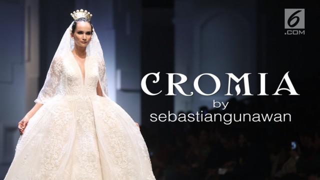 Sebastian Gunawan dan Cristina Panarese melalui label Sebastian Gunawan kembali meluncurkan koleksi terbarunya bertajuk Cromia.