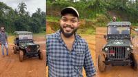 Pemuda Ini Bikin Jeep Willys Mini Bermesin Pulsar (Cartoq)