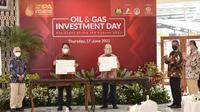 PT Pupuk Indonesia (Persero) dan Genting Oil Kasuri Pte Ltd (GOKPL) sepakat menandatangani Nota Kesepahaman (Dok: Pupuk Indonesia)
