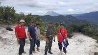 Hingga memasuki hari keenam, Wolter Klaus pendaki asal Jerman yang tersasar di Gunung Sibayak, Karo, Sumatera Utara, belum ditemukan. (Liputan6.com/Reza Efendi)