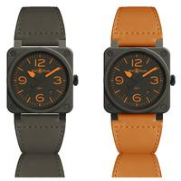 Bell & Ross mempersembahkan jam tangan mewah seri BR 03-92 MA-1