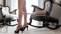 Ilustrasi High Heels atau Sepatu Hak Tinggi (iStockphoto)