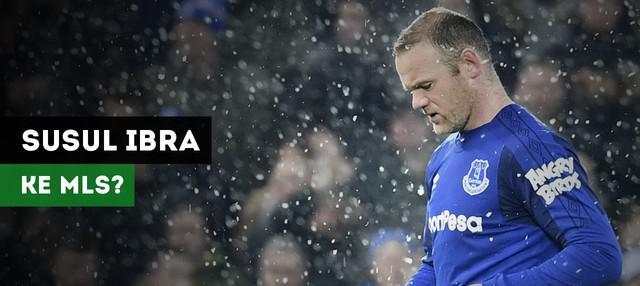 Wayne Rooney dikabarkan setuju pindah ke DC United, klub Major League Soccer.