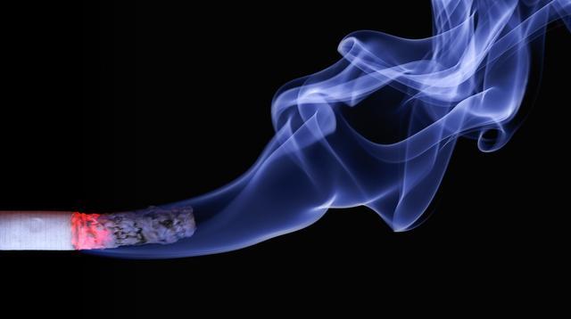 Ilustrasi asap rokok mengandung nikotin yang picu gangguan pendengaran pada bayi Foto: Pexels Pixabay.
