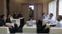 Kepala Kantor Bea Cukai Balikpapan, Firman Sane Hanafiah bertemu Walikota Balikpapan, Rizal Effendi, Jumat (5/6).