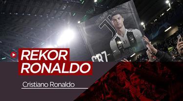 Berita video empat rekor yang hanya dibuat oleh Cristiano Ronaldo, apa saja?