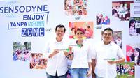 """Sensodyne persembahkan festival kuliner Sensodyne Enjoy Tanpa Ngilu! Zone sebagai puncak perayaan kesuksesan program """"Enjoy Tanpa Ngilu"""""""
