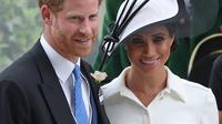 Meghan Markle dan Pangeran Harry. (Daniel LEAL-OLIVAS / AFP)