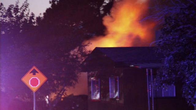 Gempa di California Selatan memicu kebakaran (AP Photo)