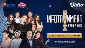 Live Streaming Infotainment Awards 2021 SCTV, Jumat 24 September 2021 Pukul 20.45 WIB