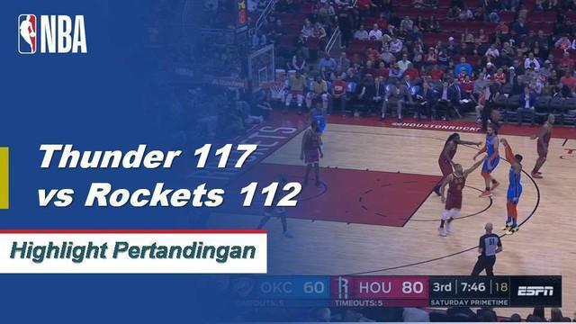 Russell Westbrook menyamai Wilt Chamberlain untuk 9 kali triple double secara berutan setelah mencetak 21 poin, 12 rebound, dan 11 assist
