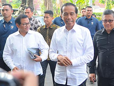 Jokowi Kumpulkan Ketum Parpol Pendukung di Plataran Menteng
