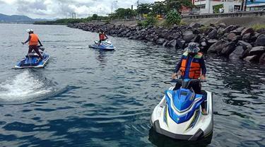 Wali Kota Manado GS Vicky Lumentut, Sabtu (27/6/2020), bertolak ke Bunaken Kepulauan membawa bibit cabe dan jagung untuk ditanam di sana.