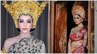 Cantik Mempesona, Ini Gaya Nora Alexandra Saat Memakai Mahkota Putri Bali (sumber:Instagram/@ncdpapl)