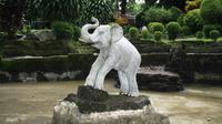 Belasan patung gajah akan dipajang di sepanjang jalan Malioboro, Yogyakarta dalam rangka Jogja 258 Out Door Sculpture Exhibition 2014.