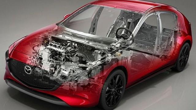 Mazda3 terbaru mengadopsi mesin Skyactiv-X