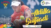 Garuda Kita Asian Games Aldilla Sutjiadi (Bola.com/Adreanus Titus)