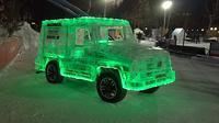 SUV ini terbuat dari es (Autoevolution)