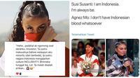 Tanggapan 6 Selebritis Soal Pernyataan Agnez Mo Akui Tidak Berdarah Indonesia (sumber:Instagram/nikitamirzanimawardi_17 dan duniamanji)