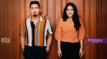 Bams eks Samsons dan sang istri, Mikhavita Wijaya. (Foto: Adrian Putra/Bintang.com Digital Imaging: Nurman Abdul Hakim/Bintang.com)