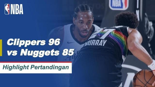 Berita Video Highlights NBA, LA Clippers Berhasil Kalahkan Denver Nuggets 96-85