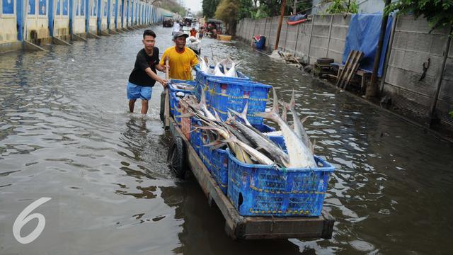 Banjir Rob Muara Angke Gm