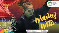Garuda Kita Asian Games Wewey Wita (Bola.com/Grafis: Adreanus Titus /Foto: Merdeka.com/Imam Buhori