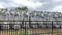 """Vihara Ksitigarbha Bodhisatvva, objek wisata religi yang dikenal sebagai vihara """"Patung Seribu"""" di Tanjungpinang, Kepulauan Riau. (Liputan6.com/Putu Elmira)"""