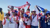 Modern Pentathlon Indonesia berjaya di SEA Games 2019 dengan mengoleksi empat emas (istimewa)
